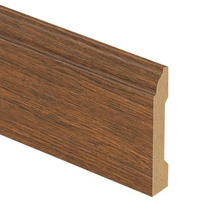 Homestead Oak 9/16 in. Thick x 3-1/4 in. Wide x 94 in. Length Laminate Wall Base Molding