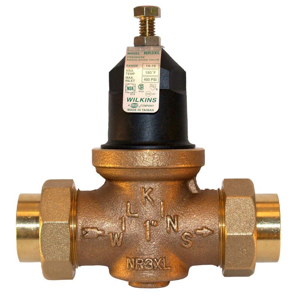 Zurn Wilkins 3 4 In Brass Fpt Water Pressure Reducing