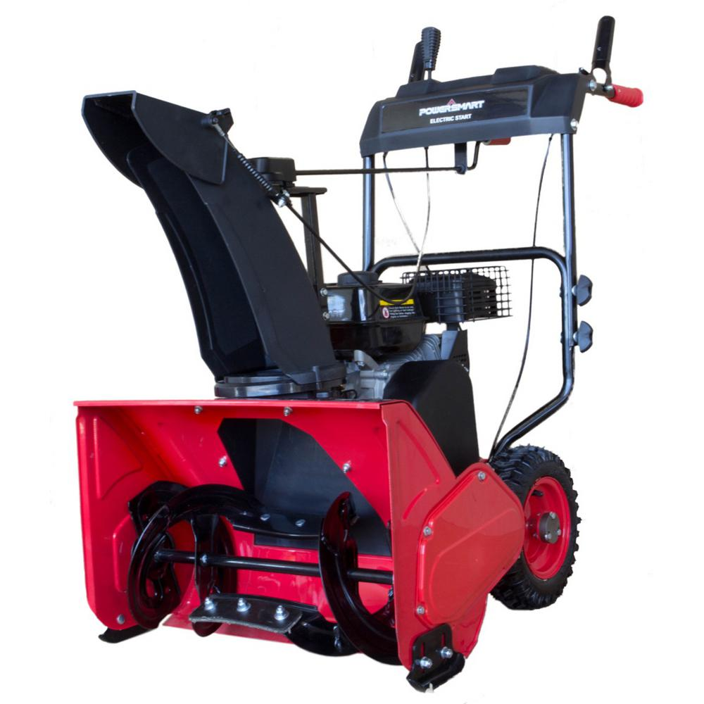 24 in. Single Stage Manual Start Gas Snow Blower