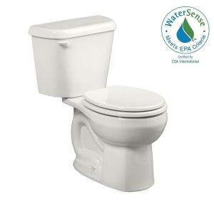 American Standard Colony 2-Piece 1.28 GPF Single Flush Round Toilet in White by American Standard