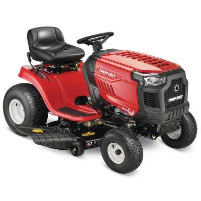 Bronco 42 in. 547 cc Engine Automatic Drive Gas Riding Lawn Tractor with Mow in Reverse