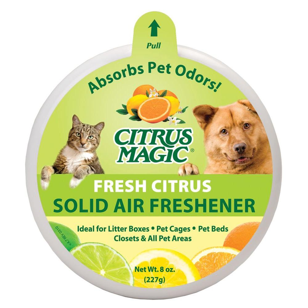 8 oz. Fresh Citrus Pet Odor Absorbing Solid Air Freshener (3-Pack)