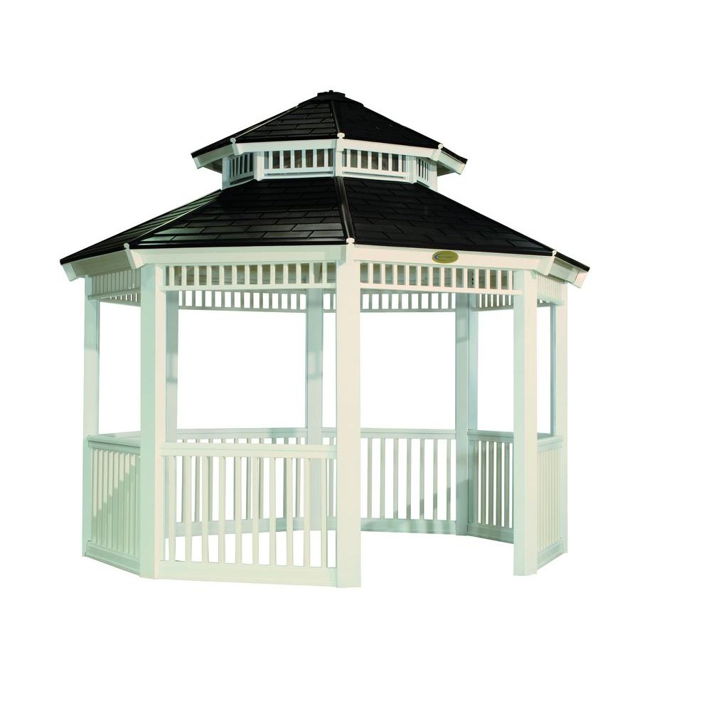 Suncast 12 ft. x 12 ft. Octagon Resin Gazebo