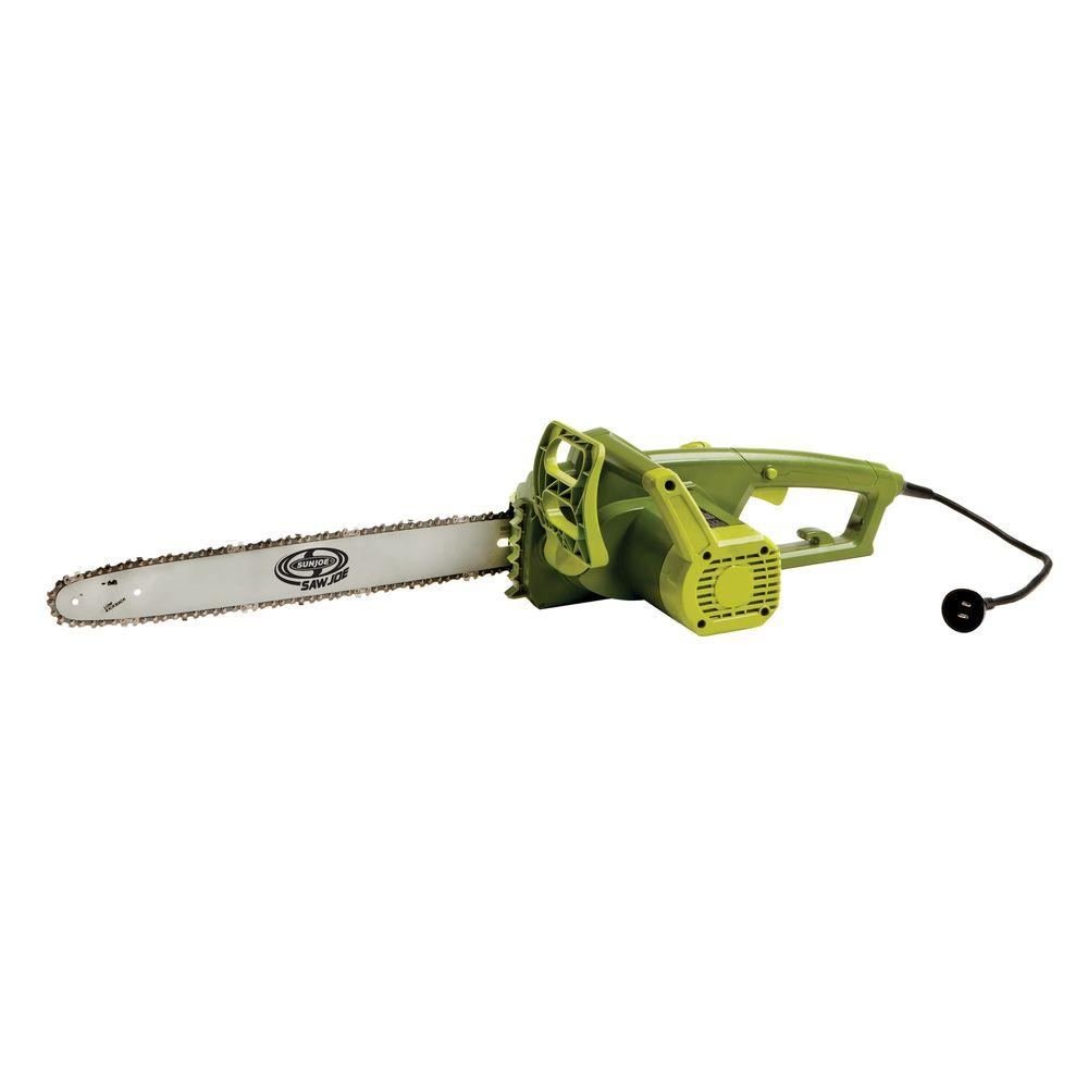 Sun Joe 18 in. 14 Amp Electric Chainsaw
