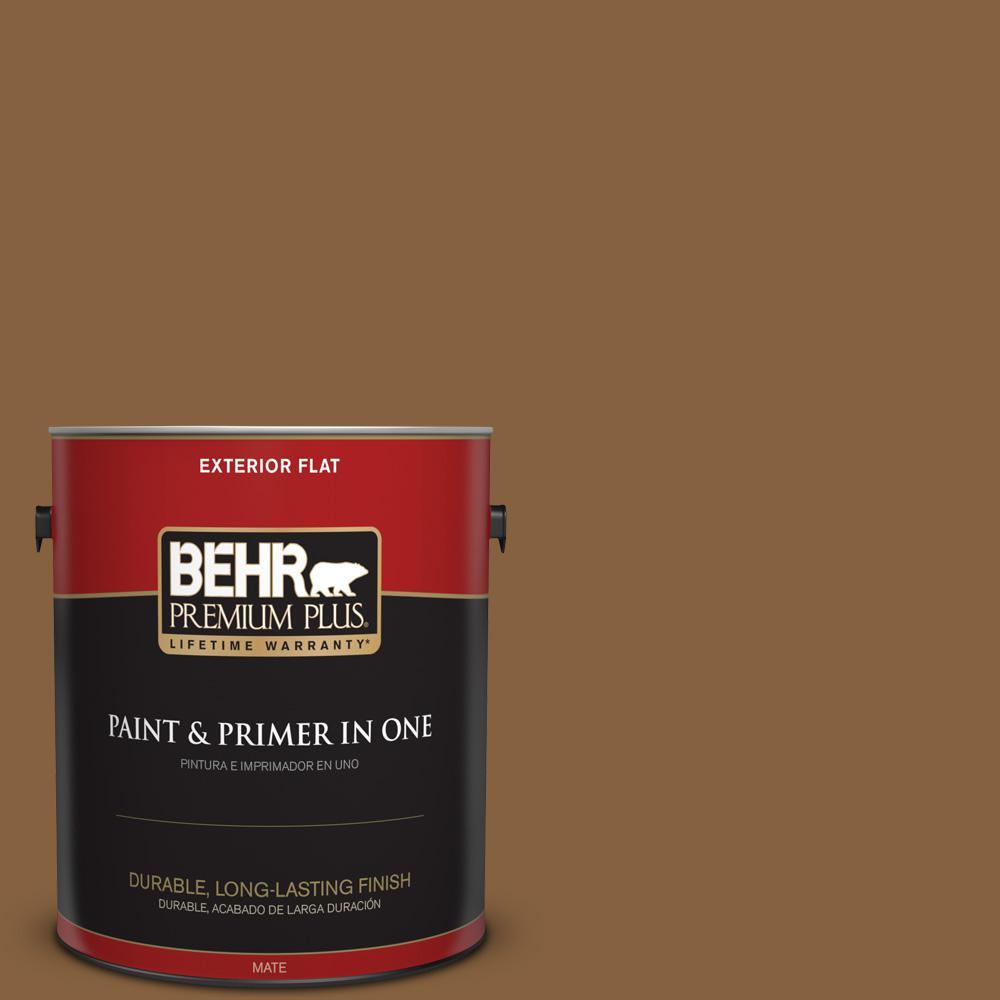 1 gal. #PPU4-18 Spice Bazaar Flat Exterior Paint