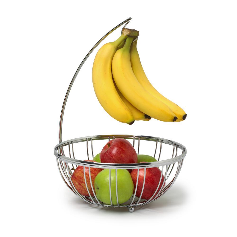 Spectrum Diversified Spectrum Contempo Fruit Tree in Chrome
