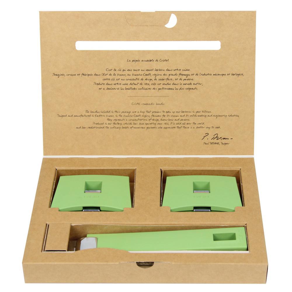 Mutine 3-Piece Green Handles