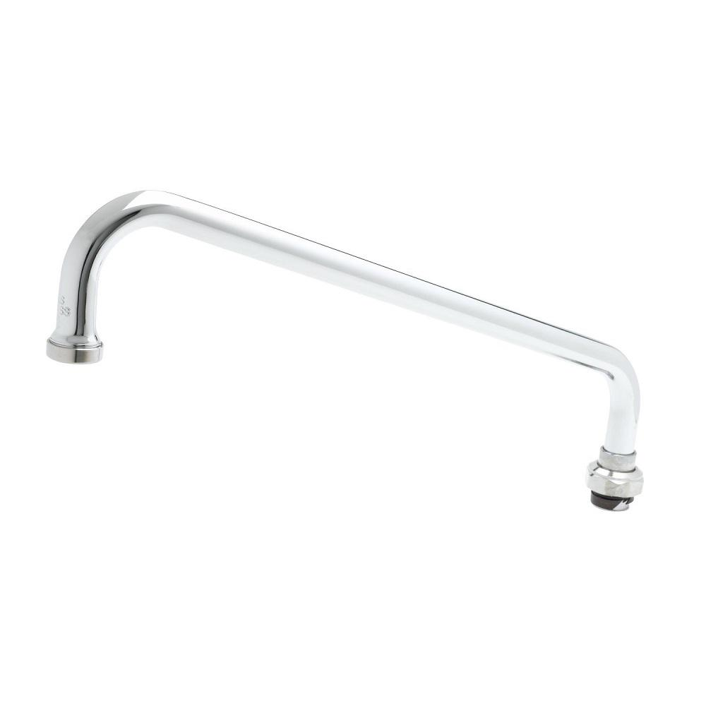 T&S Brass 62 x 12.0 x 3.7 Swing Nozzle Spout-062X - The Home Depot