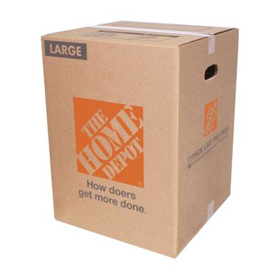 Large Moving Box (18 in. L x 18 in. W x 24 in. D)