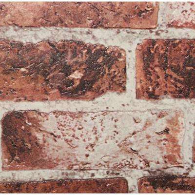 57 sq. ft. Brick Wallpaper