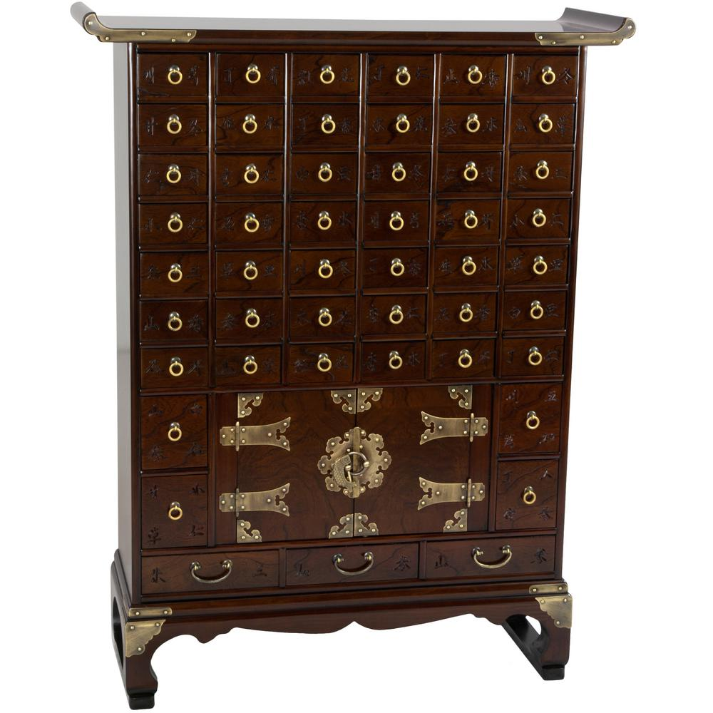 Oriental furniture brown chest krn a 12 the home depot