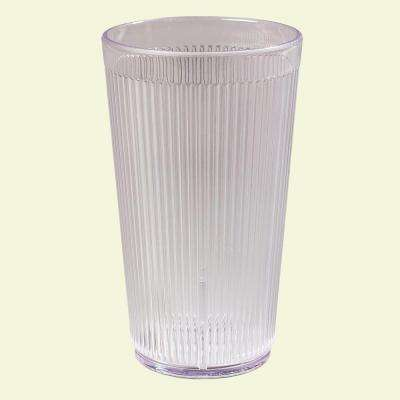 16 oz. SAN Plastic Tumbler in Clear (Case of 48)