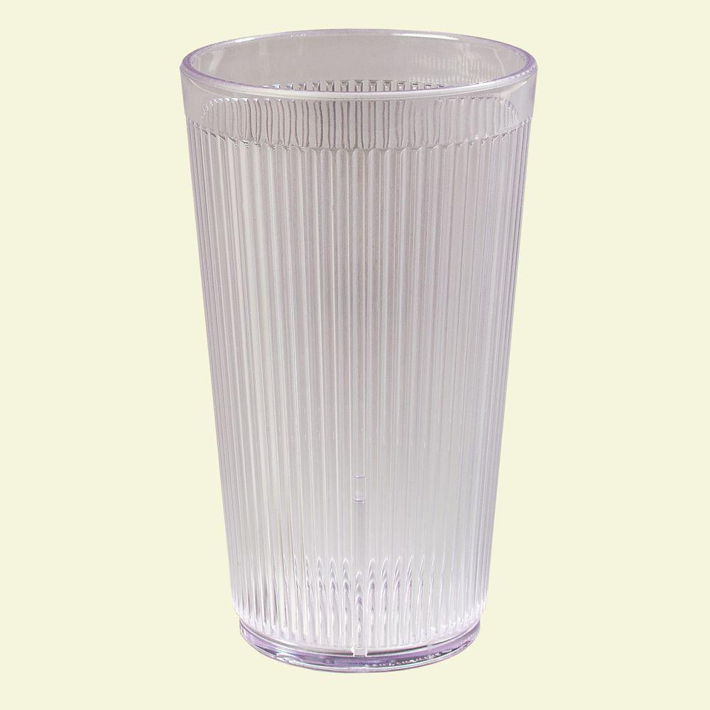 Carlisle 16 oz. SAN Plastic Tumbler in Clear (Case of 48)