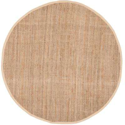 Natural Fiber Natural 7 ft. x 7 ft. Round Area Rug