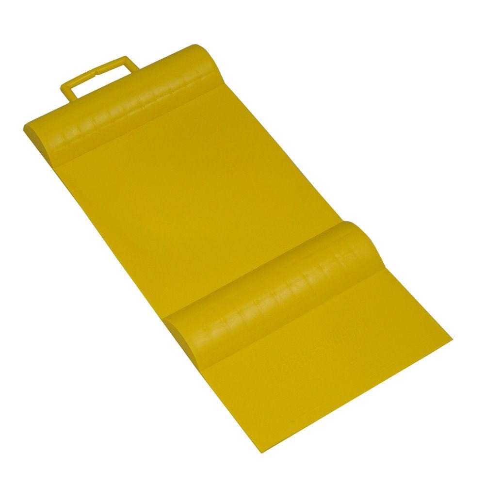Park Smart Yellow Parking Mat Guide 10001 The Home Depot