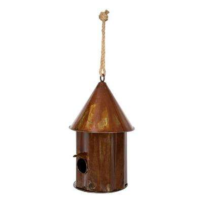 20.5 in. Bird Shanty Earth Bird House