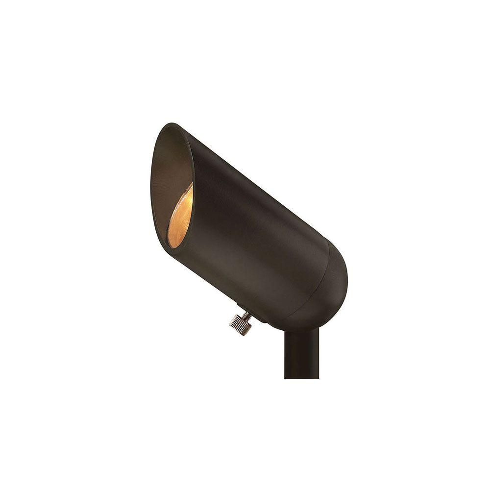 3-Watt Bronze Integrated LED 2700K Ultra Warm Spot Light