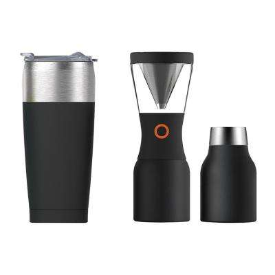 3-Piece 20 oz. Tumbler and 40 oz. Cold Brew Insulated Portable Coffee Maker