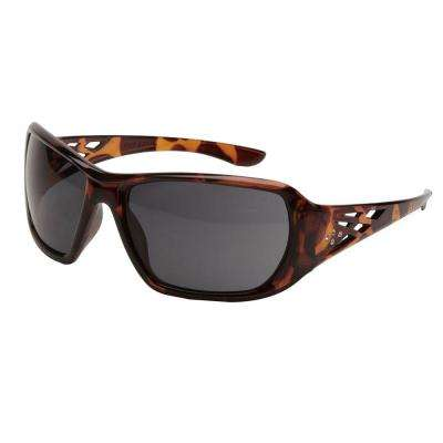 Rose Ladies Eye Protection, Tortoise Shell Frame/Gray Lens