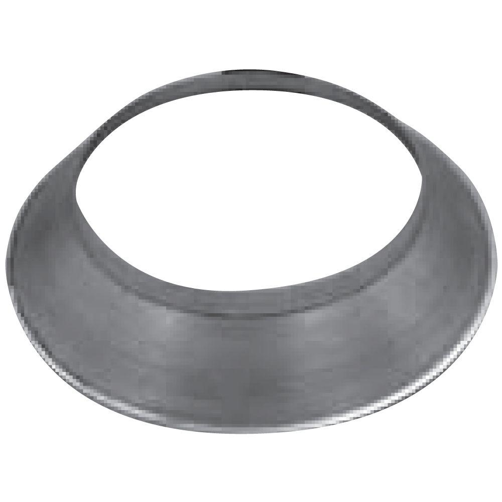 Speedi-Products EX-ROA 04 4-Inch Plastic Round to Oval Adapter Applied Applications International