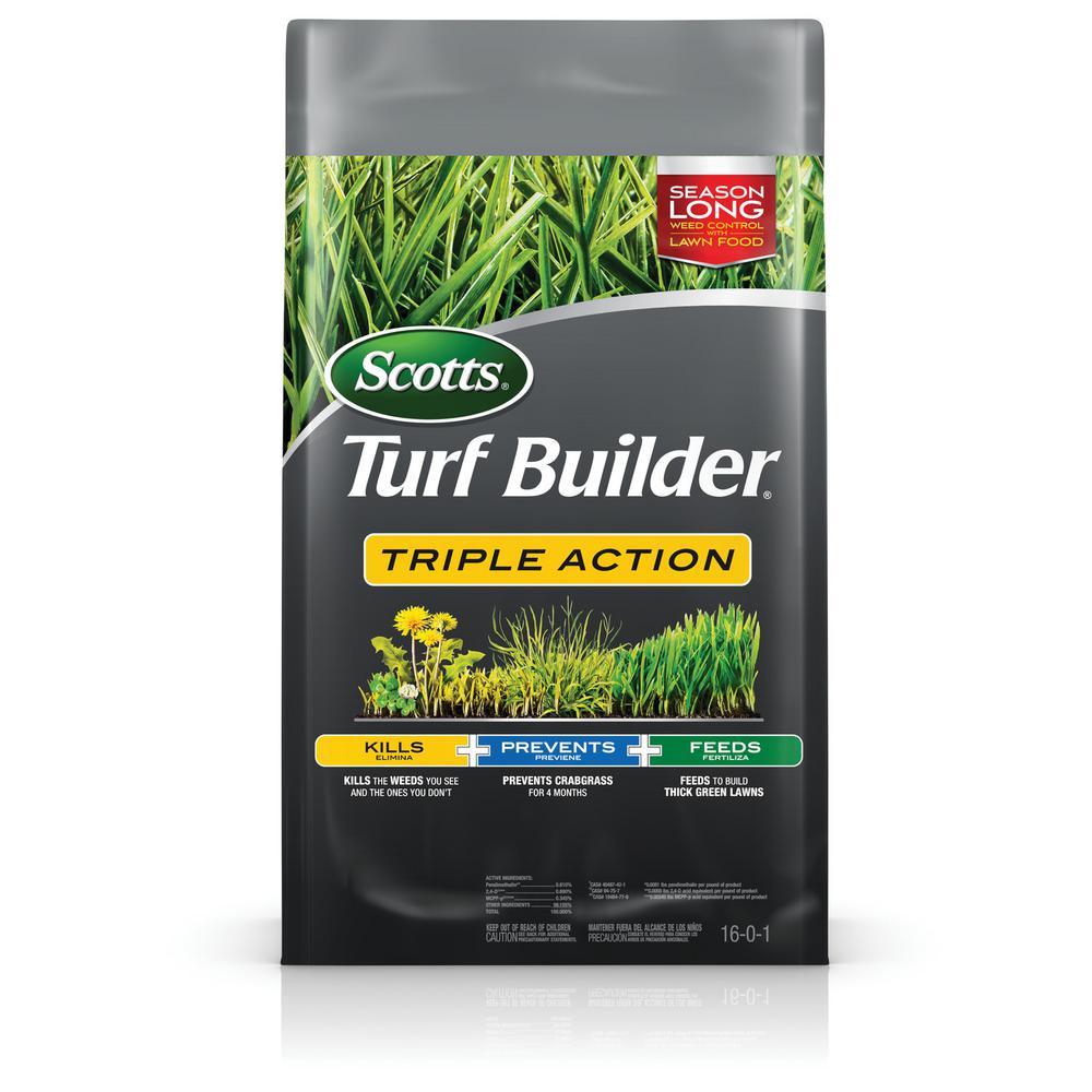Turf Builder 50.2 lb. 10,000 sq. ft. Triple Action Lawn Fertilizer
