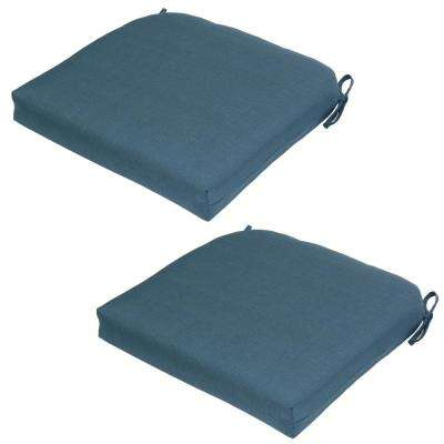 Diamond Flower Outdoor Seat Cushion (2-Pack)