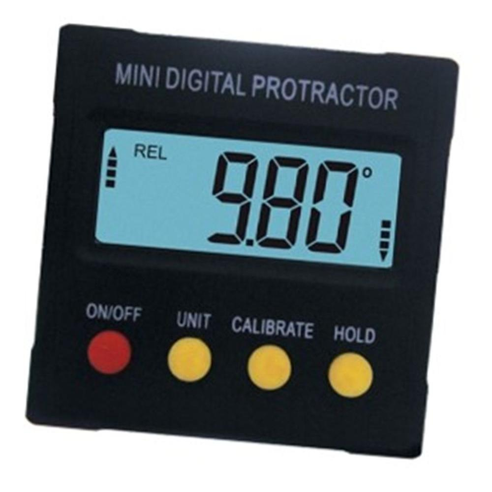 General Tools 4-Button Magnetic Digital Angle Detector