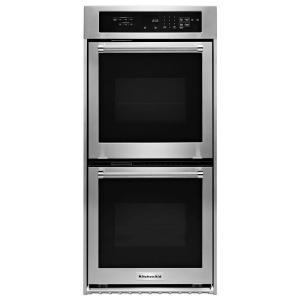 KitchenAid 30 in. Double Electric Wall Oven Self-Cleaning with ... on black ge, black estate, black lg, black aga, black smeg, black pfaltzgraff, black hp, black whirlpool, black microsoft, black tupperware, black apple, black samsung, black paula deen, black gibson,