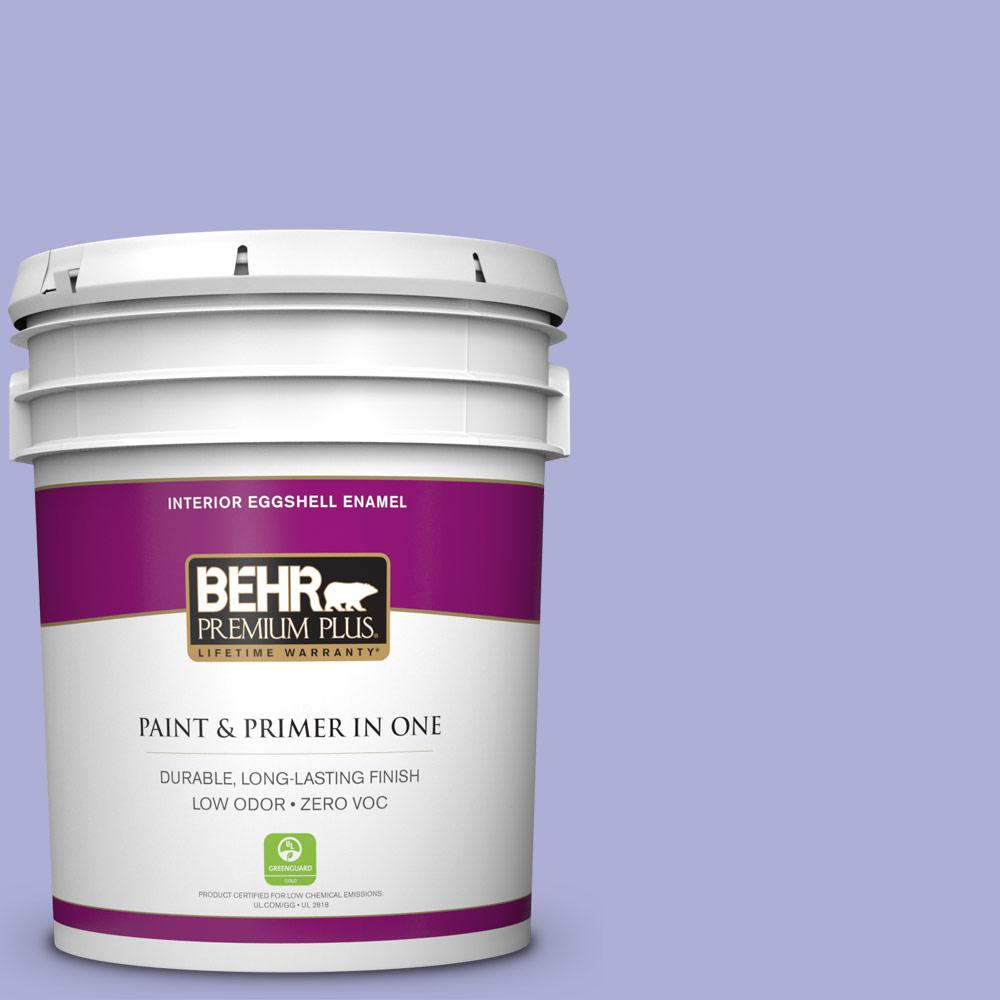 5-gal. #620B-4 Pixie Violet Zero VOC Eggshell Enamel Interior Paint