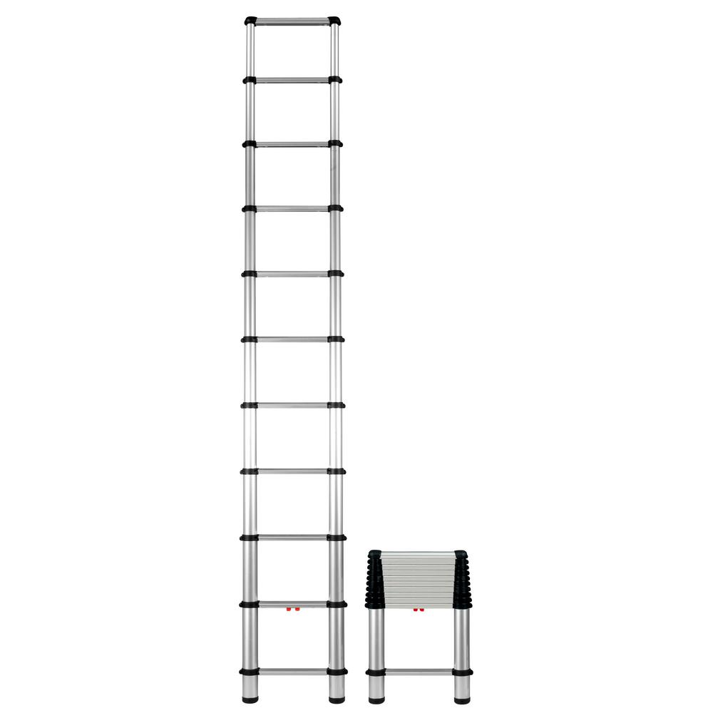telesteps 10 5 ft  aluminum telescopic extension ladder-1400e