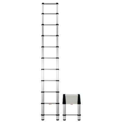 10.5 ft. Aluminum Telescopic Extension Ladder