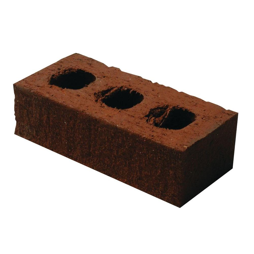 Unbranded 8 In X 4 In X 2 In Clay Brick 20050276 The Home Depot