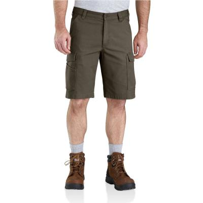 Men's 42 in.  Tarmac Cotton/Spandex Rugged Flex Rigby Cargo Short