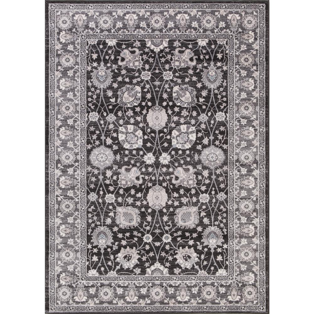 Lara Vase Anthracite (Grey) 7 ft. x 9 ft. Area Rug