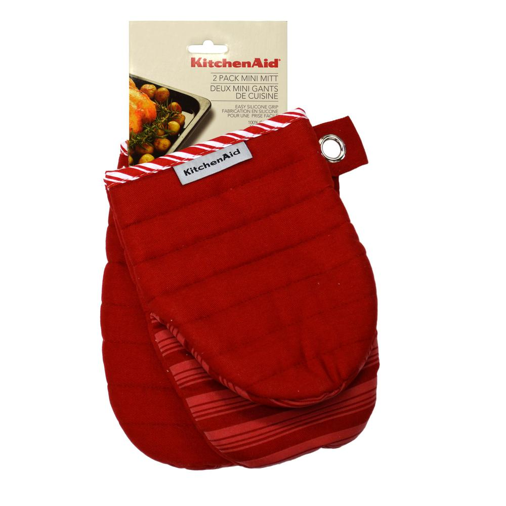 KitchenAid Fire Red Mini Mitt (2-Pack)