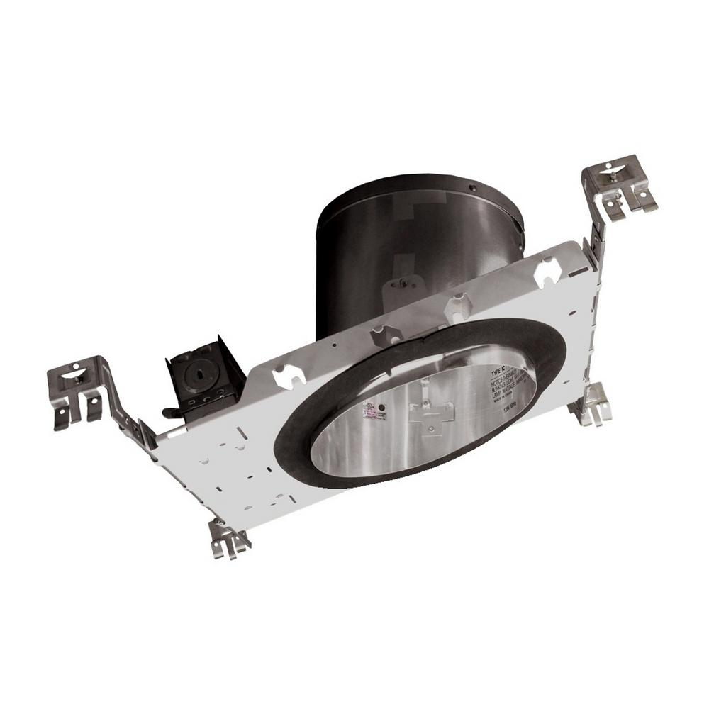 NICOR 6 in. Recessed IC Rated Airtight Sloped Housing for New