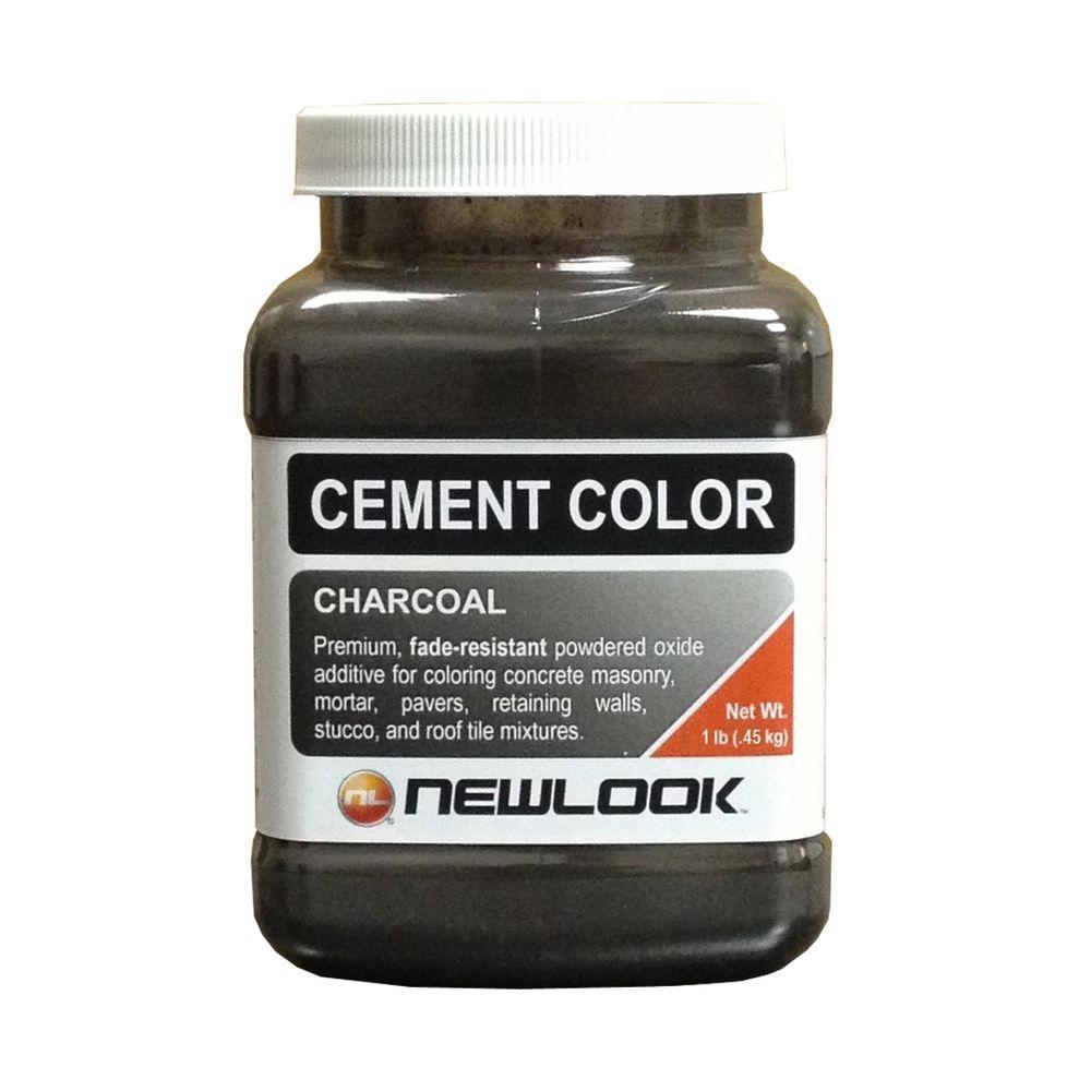 1 lb. Charcoal Fade Resistant Cement Color