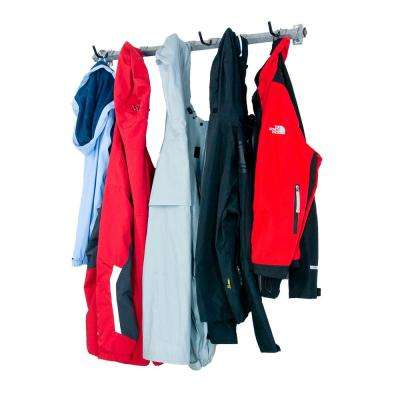 5-Garage Coat Rack