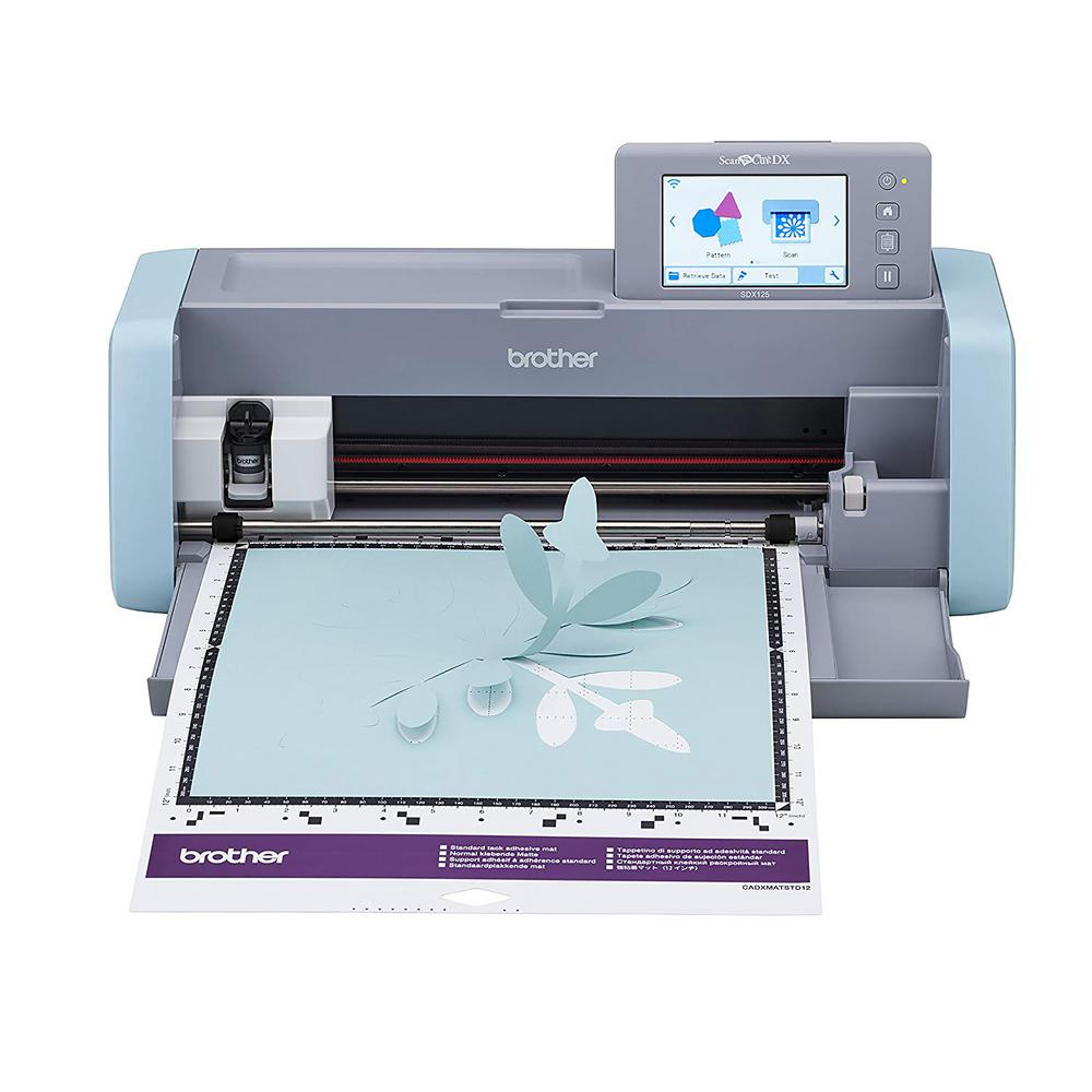 Brother ScanNCut DX Cutting Machine with Scanner, Grey and Blue