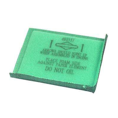 4.5 in. x 3.75 in. x 0.5 in. Air filter pre cleaner