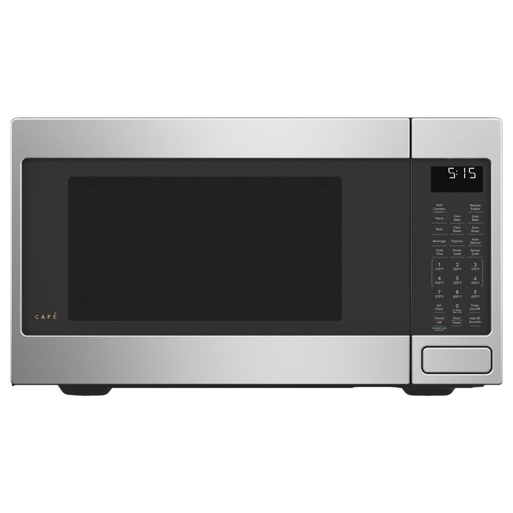 Cafe 1.5 cu. Ft. Smart Countertop Convection Microwave Oven in Stainless Steel with Sensor Cooking