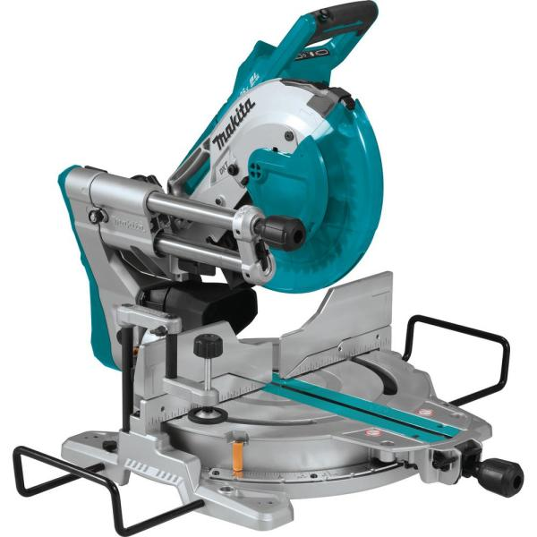 18-Volt X2 LXT Lithium-Ion (36V) Brushless Cordless 10 in. Dual-Bevel Sliding Compound Miter Saw with Laser (Tool Only)