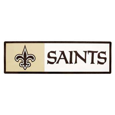 NFL New Orleans Saints Outdoor Step Graphic