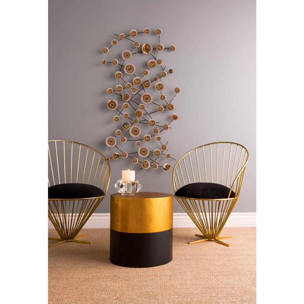 Metal Alignment : Titan lighting in quot vibrant alignment metal