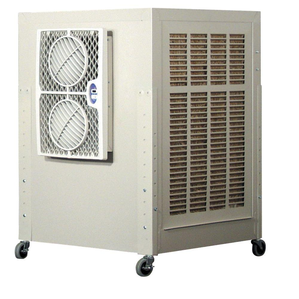 Frigiking Cool Tool 3800 CFM 2 Speed Portable Evaporative Cooler For 800  Sq. Ft