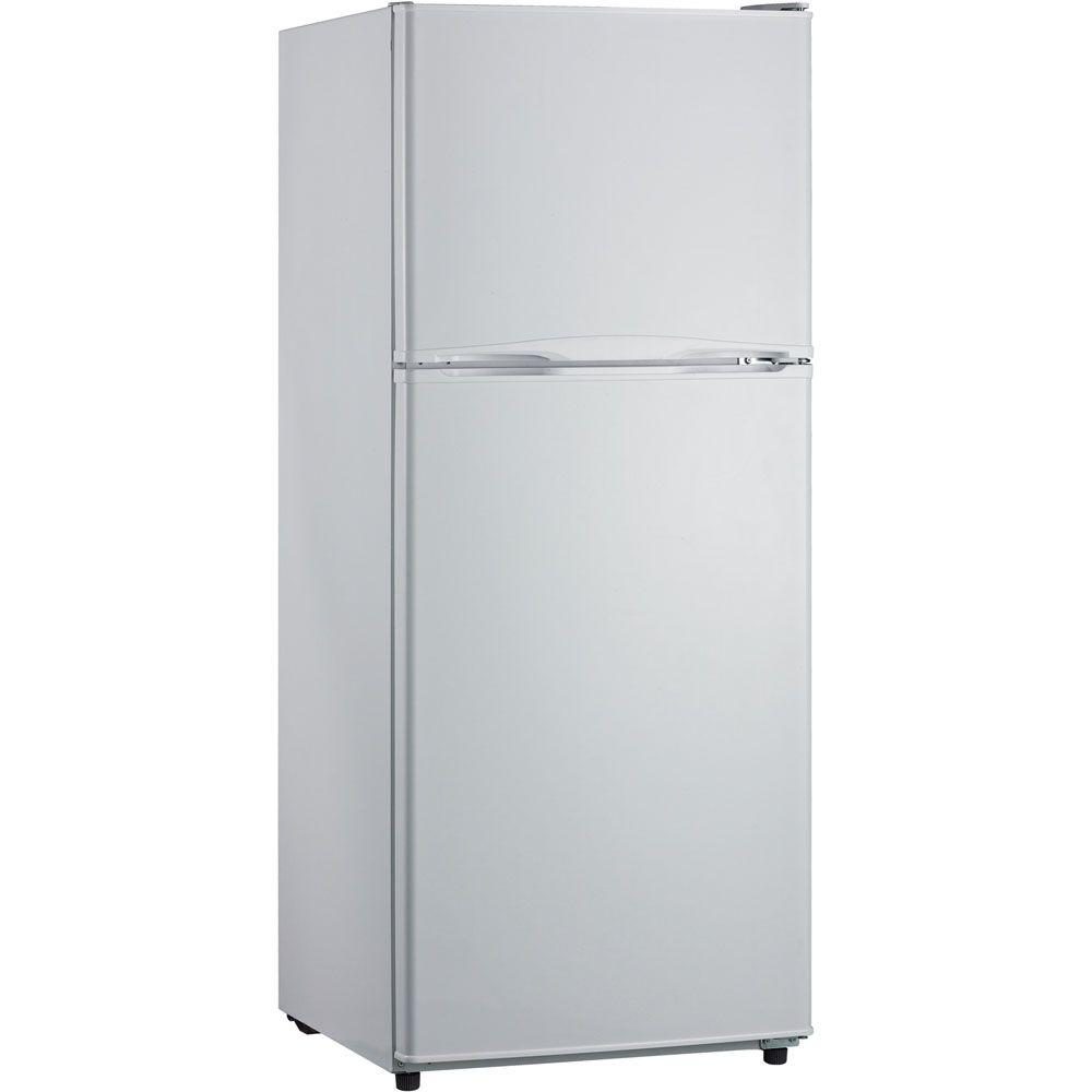 refrigerator 10 cu ft. hanover frost-free 10 cu. ft. top freezer refrigerator in white cu ft e