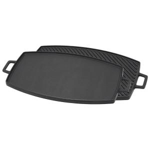 Bayou Classic 0.75 inch x 14.5 inch Cast Iron Reversible Griddle by Bayou Classic