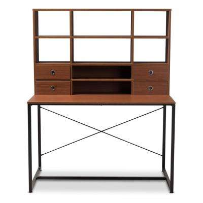 Edwin Brown and Black Writing Desk