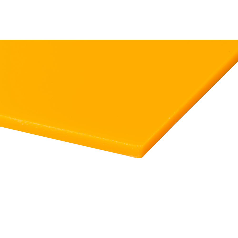 Plexiglas 48 In X 48 In X 0 118 In Yellow Acrylic Sheet 2 Pack Acy11848482pk The Home Depot