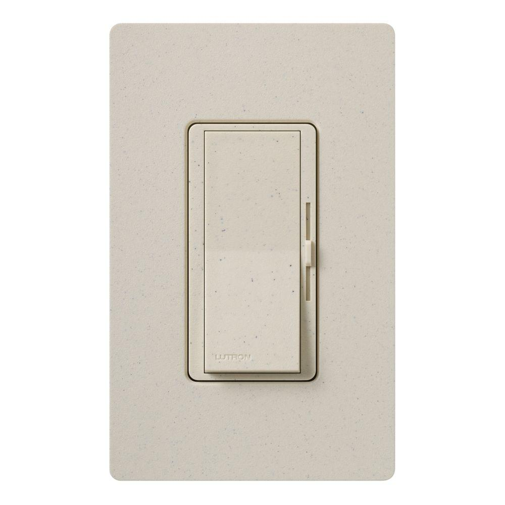 Diva Dimmer for Incandescent and Halogen, 600-Watt, Single-Pole or 3-Way,